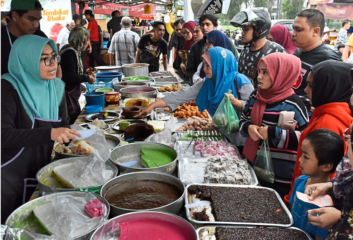 There will be no Ramadan bazaars this year due to the MCO, which may help reduce the temptation to overbuy and overeat during iftar.