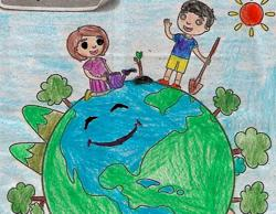 Young Malaysians show their love for Mother Earth through art