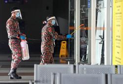 'Virus terminators' cleanse airport in Alor Setar