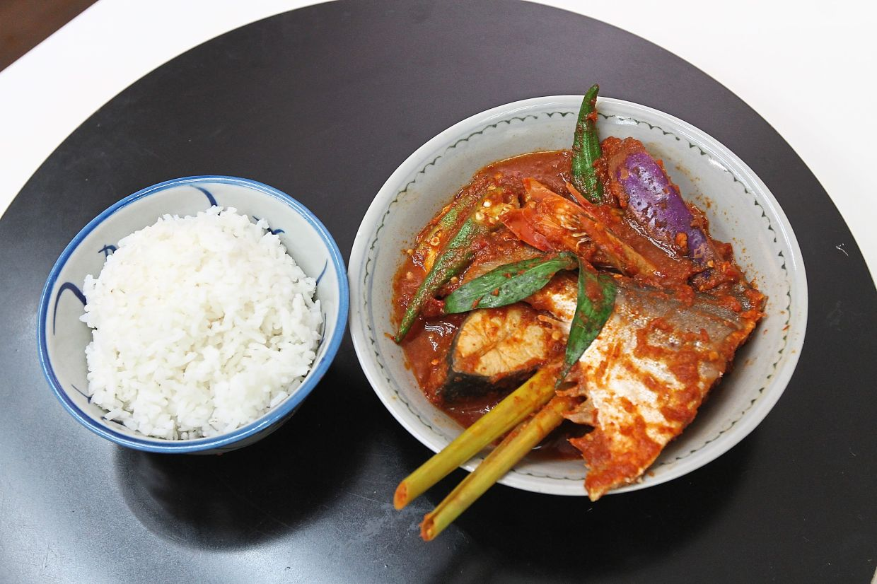 Sour and spicy fish stew is a Minang dish that is well-known in the states of Melaka and Johor. — Photos: LOW LAY PHON/The Star