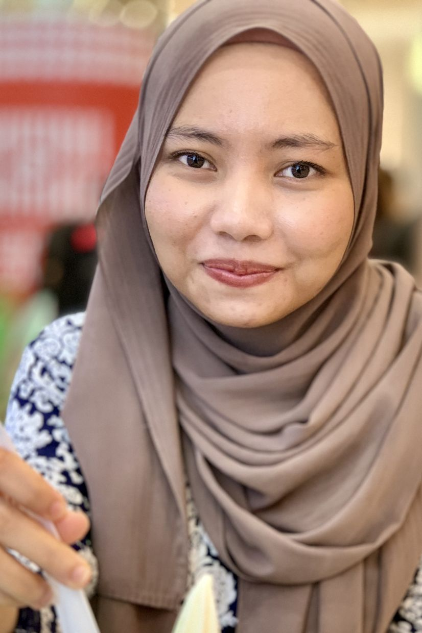Nabihah says she will be reaching out to corporate sponsors to help provide laptops and Internet data for her students to adapt to e-learning during MCO. — NABIHAH HASHIM