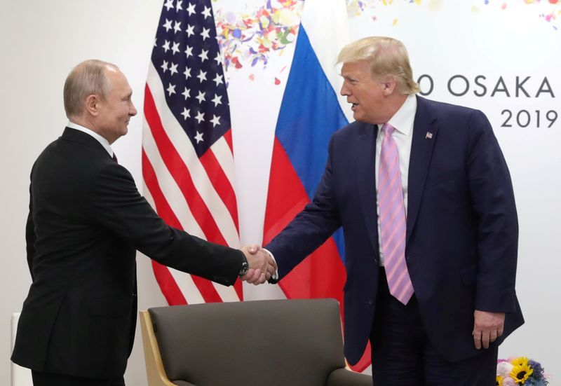 Trump And Putin Issue Rare Joint Statement Promoting Cooperation The Star
