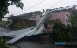 Flash floods, storm hit mainland Penang