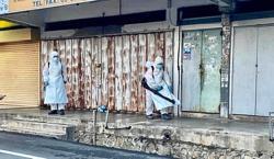 Thorough sanitisation in Seri Kembangan