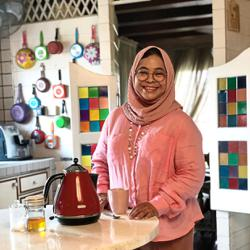 Cookbook author Marina Mustafa's ayam percik and popiah pedas recipe for Ramadan