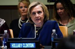Biden, seeking support of women, wins Hillary Clinton's endorsement