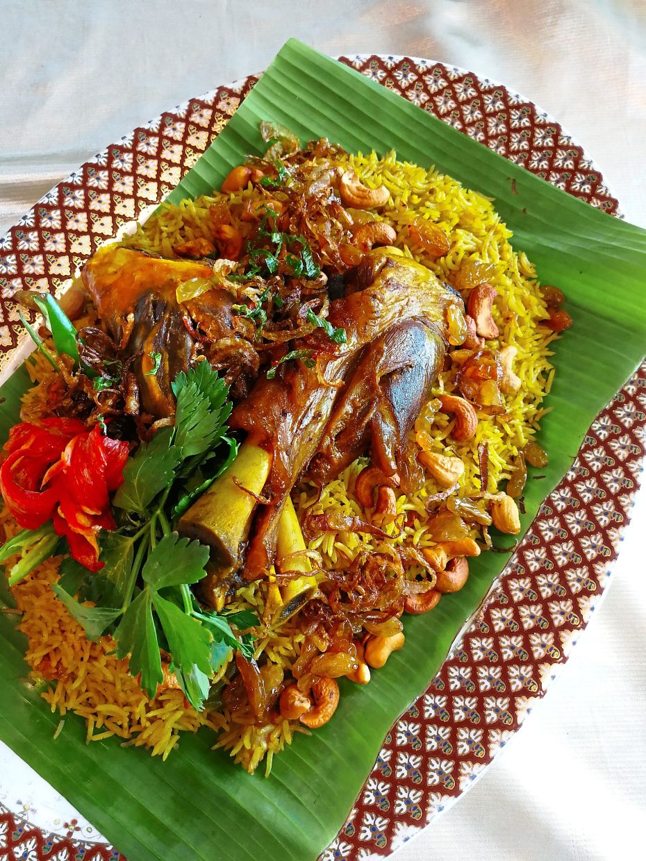 Sunway Resort Hotel and Spa's Bazaar-To-Go takeaway menu includes festive favourites such as Lamb Shank Briyani Rice.
