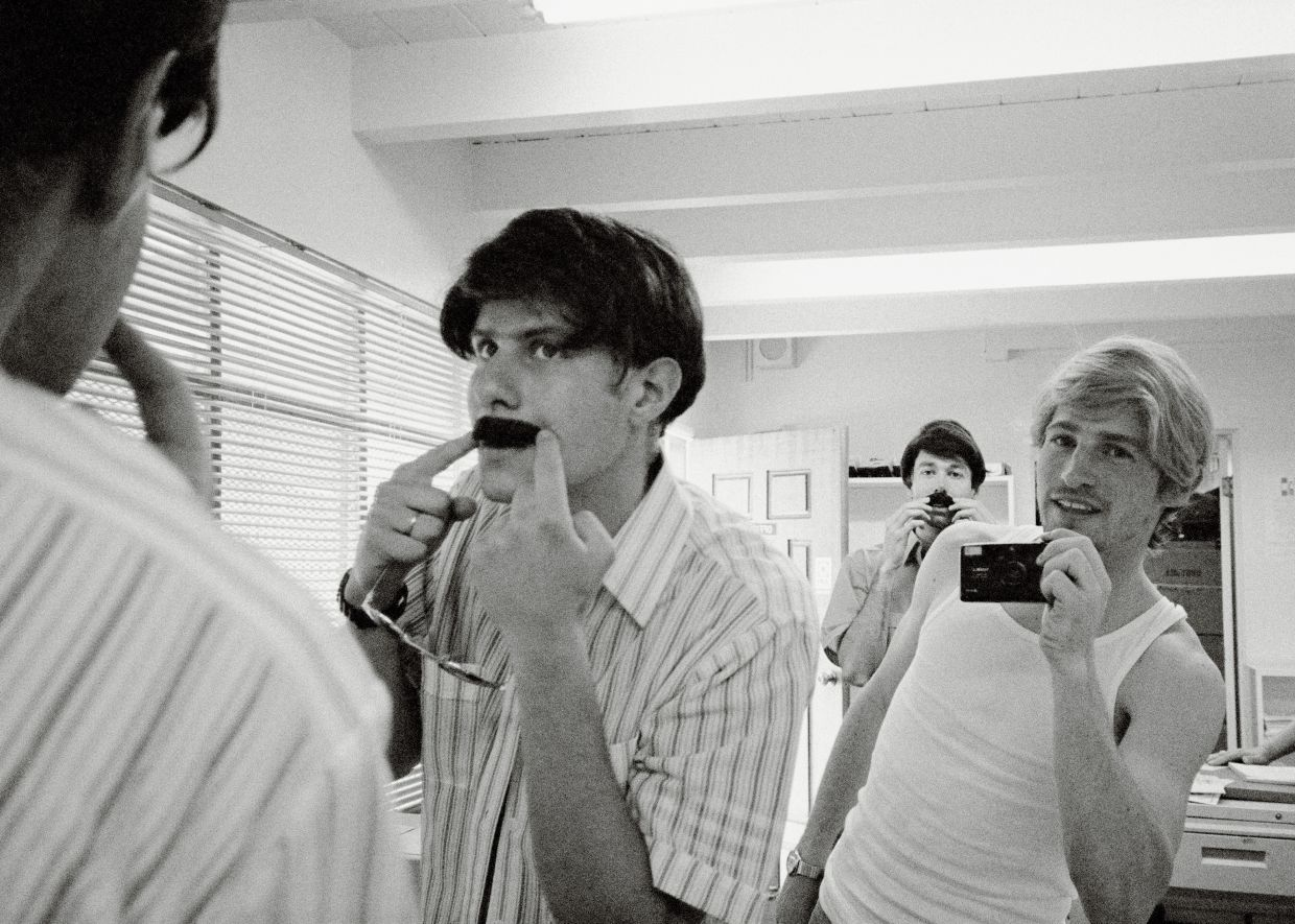 Seen here filming the video for the Beastie Boys' 1994 hit song sabotage, Jonze (right) is a regular collaborator with the band.