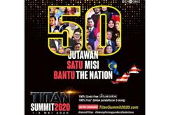 The Titan Summit 2020, an effective platform to help entrepreneurs build their business knowledge and survive the current environment
