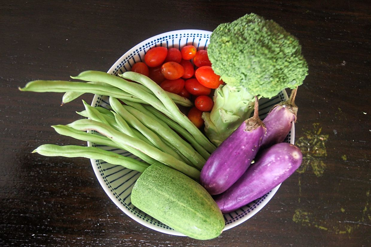 A healthy diet doesn't mean you have to stick to eating organic foods or vegetables only. — Filepic