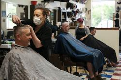 Barbers ready to reopen as Covid-19 cases decline