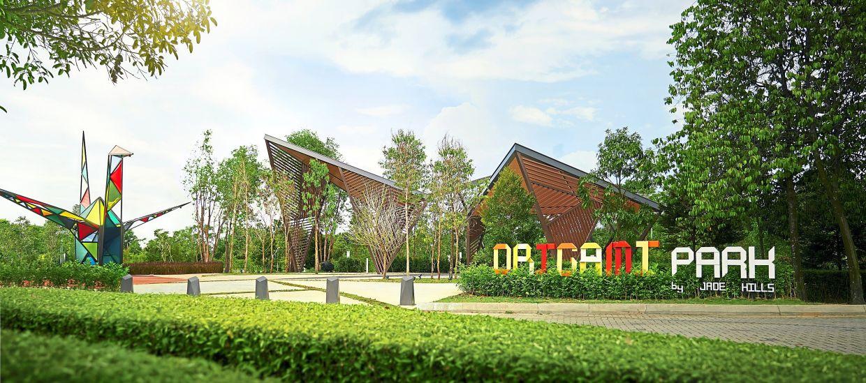 The Origami Park in Jade Hills is now open.