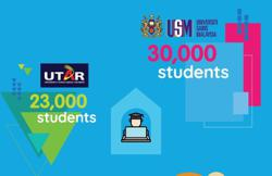 Utar students study online via YTL Foundation's Learn From Home initiative