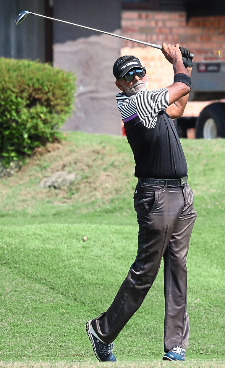 Sushil last played golf before the movement control order started in March and cannot wait to get back to the sport now allowed under conditional MCO.