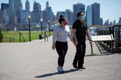 Love during lockdown: Singles in US reinvent dating