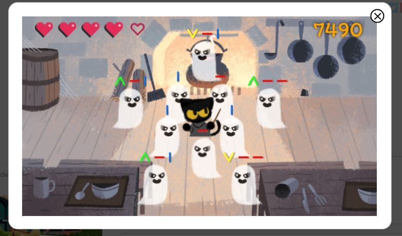 cmco be a wizard cat score at a game of chance and other google doodle games to play the star the star