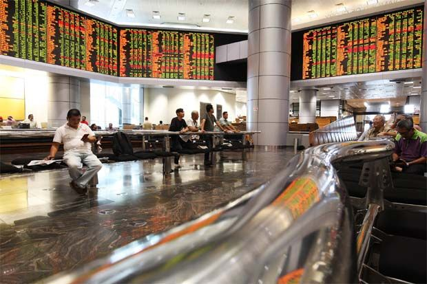 The FBM KLCI fell by 12.62 points, or 0.91%, at its close yesterday to 1,376.93.