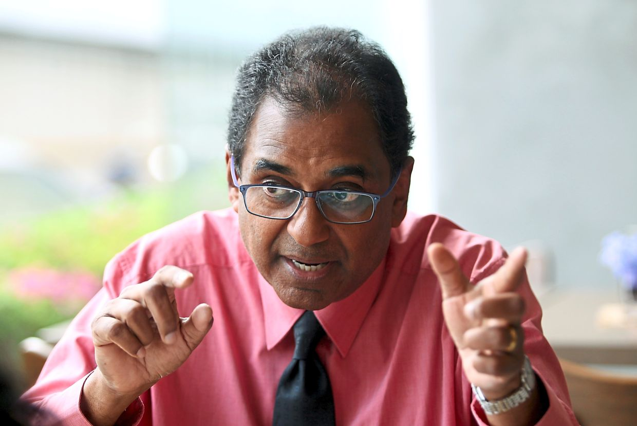 Prof Jayakumar says an absence of a good system could lead to a logistical nightmare.