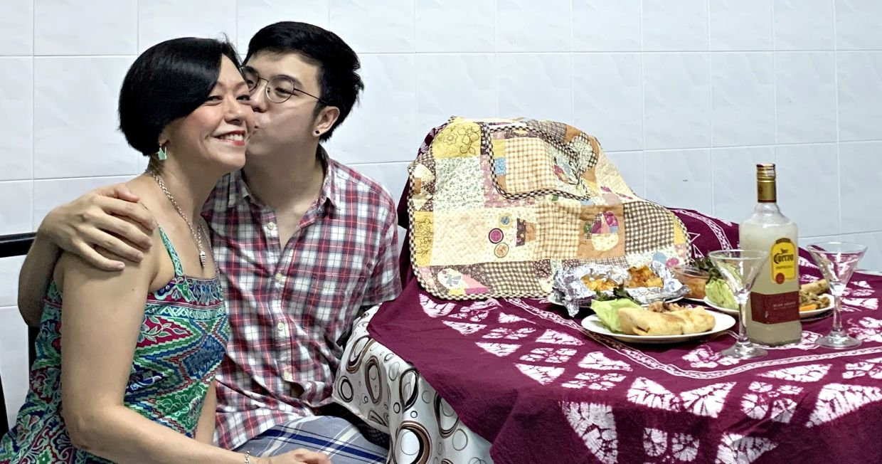 The mother-and-son duo also celebrated Yee's birthday at home this year by ordering food delivery.