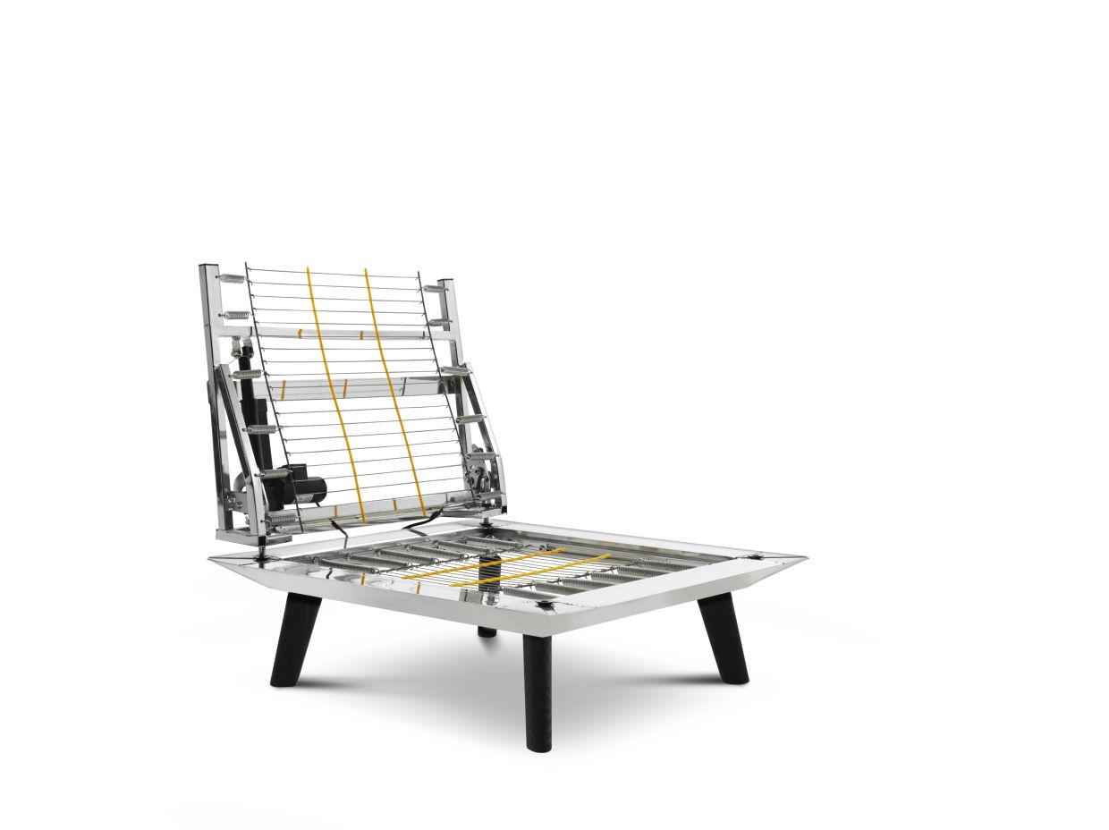 King Living's famously engineered steel frame comes with a 25-year warranty. Photo: Meridian Outlook