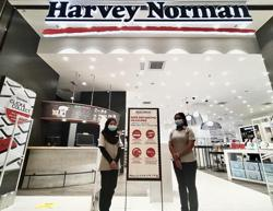 Harvey Norman thanks customers, staff and suppliers