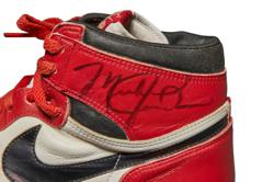 Michael Jordan's first Air Jordans up for auction at Sotheby's