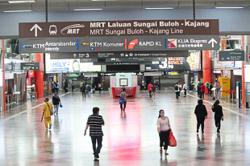 KL Sentral sees train passengers increase