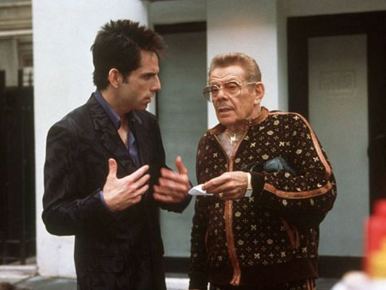 Ben Stiller and Jerry Stiller in a scene from 'Zoolander'. Photo: Filepic