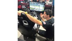 E-racing keeps drivers driven as they miss the track