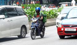'All food delivery riders must register, get vaccinated'