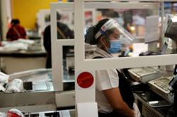 Thai shopping malls prepare to reopen with robots, drones, masks