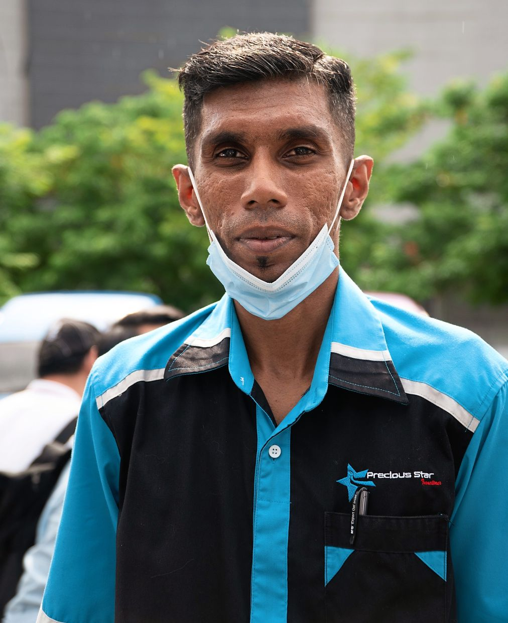 Thiagarajan says the Covid-19 pandemic has badly affected many bus drivers and operators.