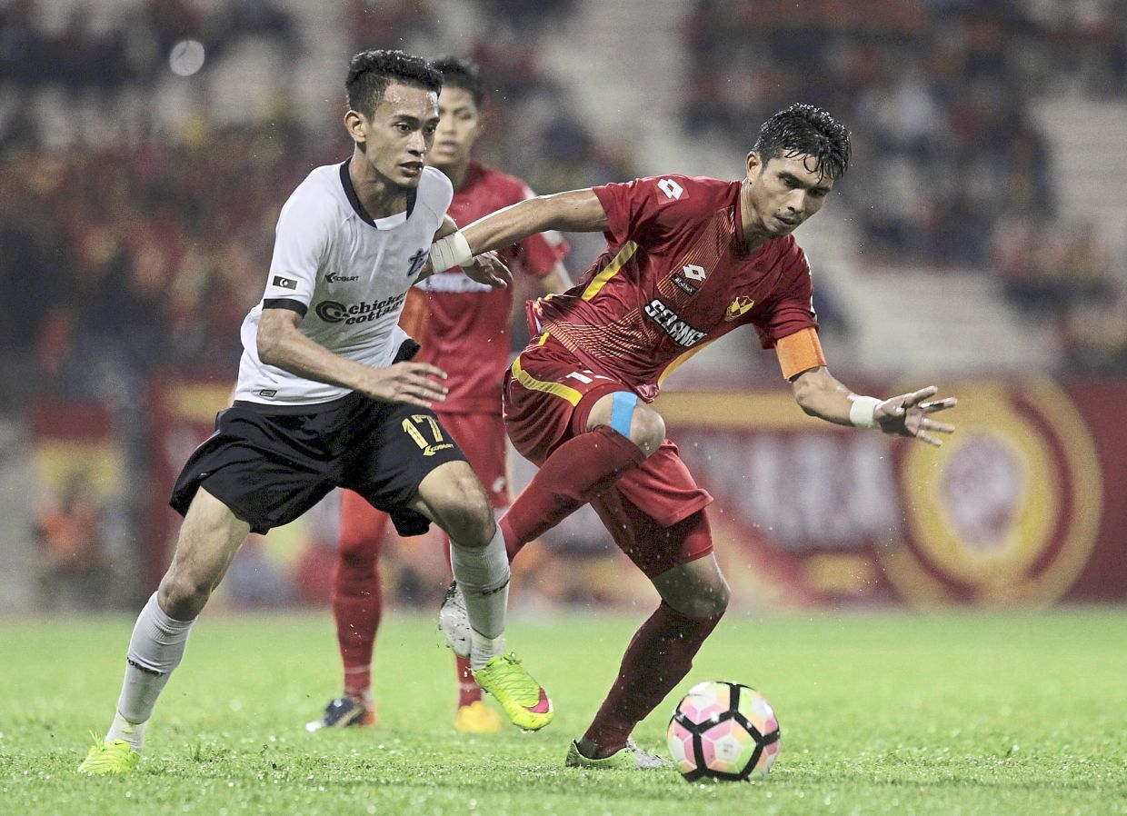 Syed Sobri has been on target against Pahang with two different teams, Sime Darby and T-Team.