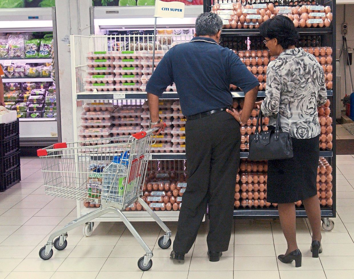 In the supermarket, you will see that some eggs are fortified with micronutrients like selenium and fatty acids like omega-3. — Filepic