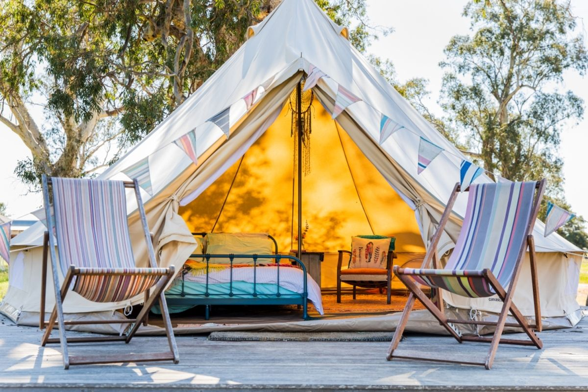 Choose glamping for the ultimate outdoor adventure. Photo: South Australia Tourism Commission