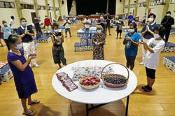 Society holds celebration for five halfway house residents
