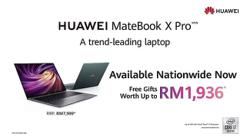 Trend-leading Huawei laptops on sale starting today