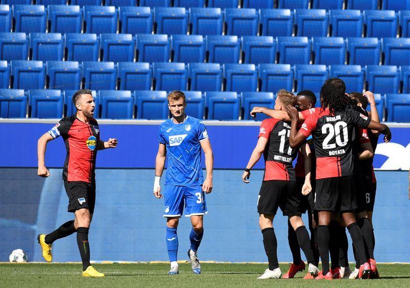 Football: Hertha's Ibisevic haunts Hoffenheim on Bundesliga return ...