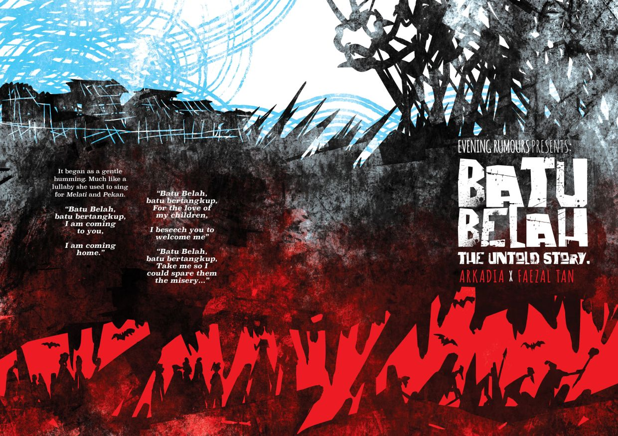 Malaysian graphic novel 'Batu Belah' gives a familiar folk tale a dark spin