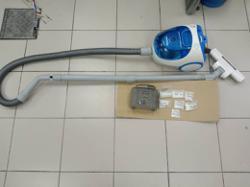 Cops clean out drugs hidden in vacuum cleaner