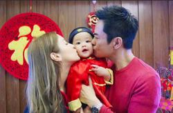 Are HK celebrity couple Kevin Cheng and Grace Chan expecting a second child?