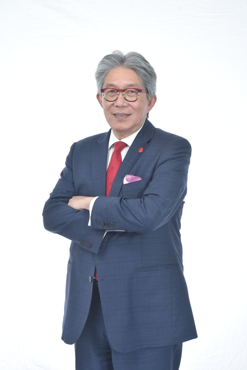 """Gan Leong Hin, CEO of Prudential Assurance Malaysia Berhad: """"Prudential was the first insurer to waive the exclusion in medical policies and certificates on communicable diseases requiring quarantine by law and subsequently introduced Special Covid-19 Coverage."""" Photo: Prudential Malaysia"""