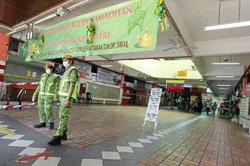 Association: Precautions in place at partially closed TTDI market
