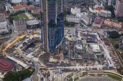 Construction stocks lower