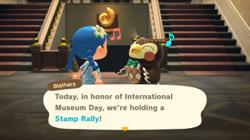 In the laid-back world of Animal Crossing, International Museum Day lasts two weeks