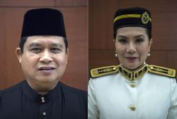 Mohd Ali and Ras Adiba sworn in as senators