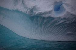 Climate change turning Antarctica's snow green
