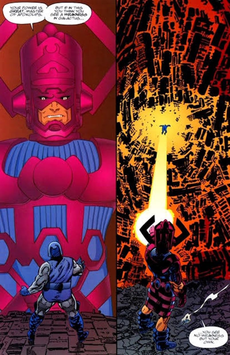 Darkseid versus Galactus? We'd love to see that on the big screen one day!