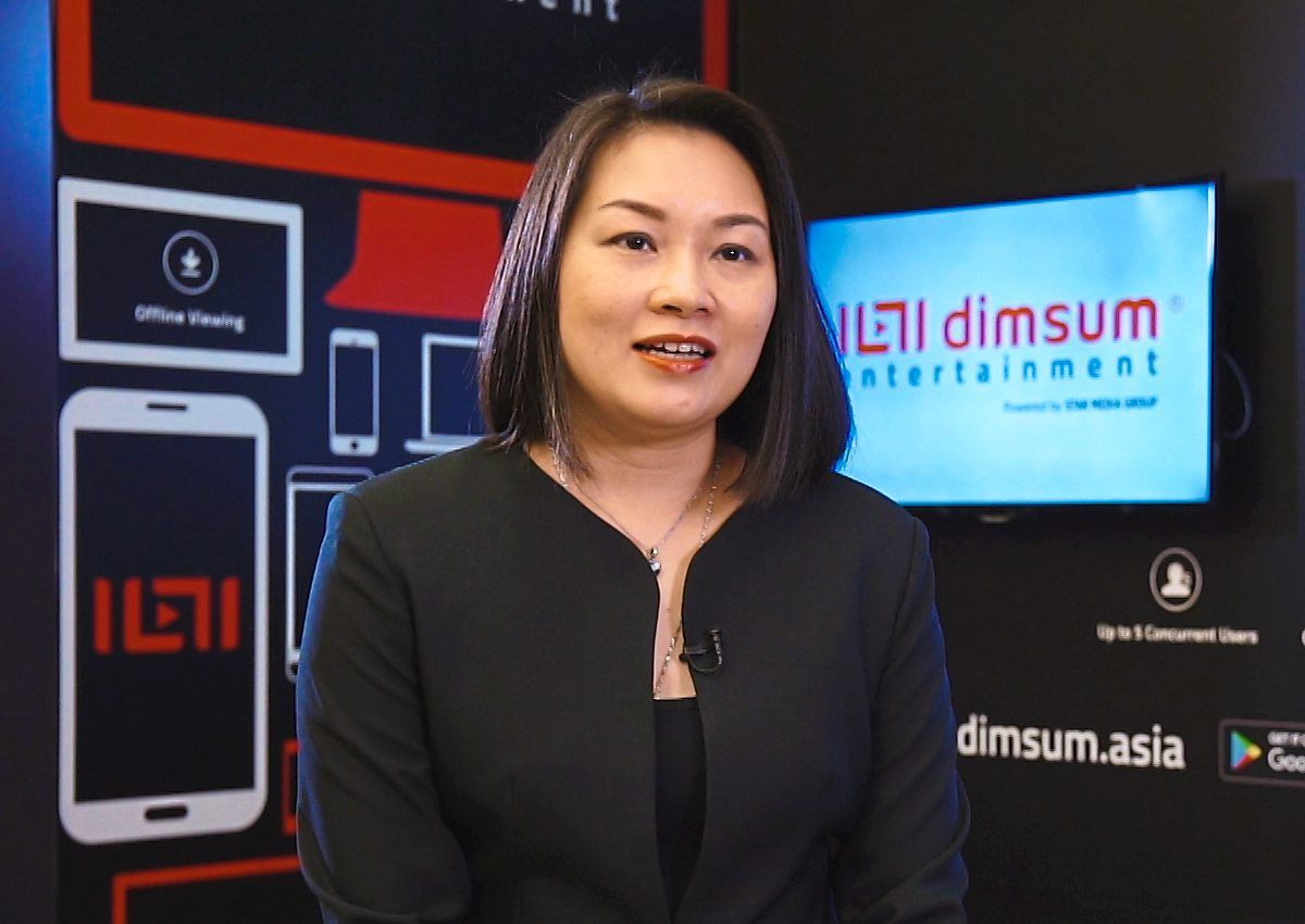 Catering to a wider audience: Kim says the partnership is strategic as dimsum entertainment has seen an increase in viewers watching shows through Huawei devices. — dimsum entertainment.