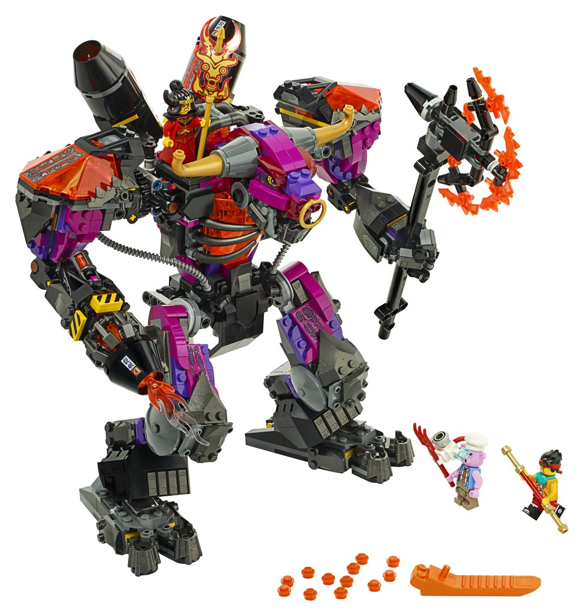 The Demon Bull King is the main antagonist of the Monkie Kid range.